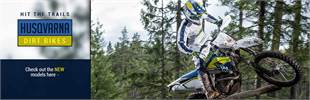 New Husqvarna Dirt Bikes: Click here to view the models.