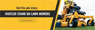 Hustler Stand-On Lawn Mowers: Click here to view the models.