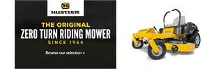 Click here to view our selection of Hustler mowers.