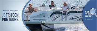 JC TriToon Pontoons: Click here to view the model.