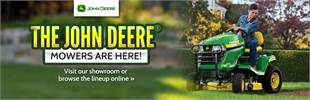 Click here to view our lineup of John Deere mowers.