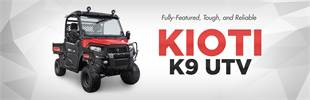 KIOTI K9 UTV: Click here to see the model.
