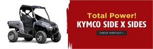 KYMCO Side x Sides: Click here to view the models.