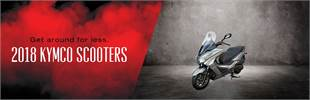 2018 KYMCO Scooters: Click here to view the lineup.