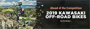2019 Kawasaki Off-Road Bikes: Click here to view the models.