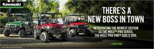 2018 Kawasaki Mule Family For Co-Op