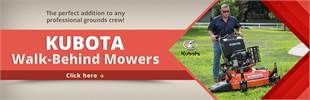 Click here to view our selection of Kubota walk-behind mowers!