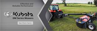 Click here to view our selection of Kubota DM series mowers!