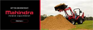 Click here to view our selection of Mahindra power equipment!