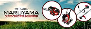 Maruyama Outdoor Power Equipment: Click here to view the models.