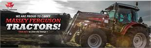 We are proud to carry Massey Ferguson tractors! Click here to view the lineup.