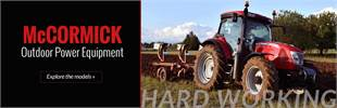 McCormick Outdoor Power Equipment: Click here to view the models.