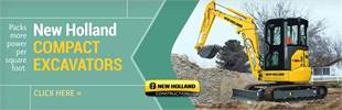 Click here to view our selection of New Holland compact excavators!