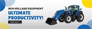 New Holland Equipment: Click here to view our models!