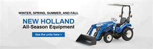 New Holland All-Season Equipment: Click here to view our models!