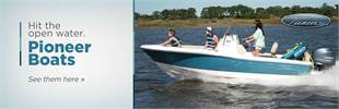 Pioneer Boats: Click here to view the models.