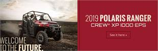 2019 Polaris RANGER CREW® XP 1000 EPS: Click here for details.