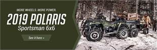 2019 Polaris Sportsman 6x6: Click here to view the models.