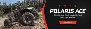 2019 Polaris ACE®: Click here to view the models.