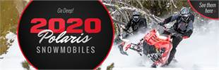 Go Deep! 2020 Polaris Snowmobiles: Click here to view the models.