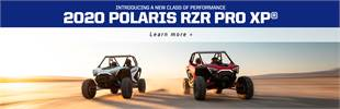 2020 Polaris RZR PRO XP® Click here to learn more!