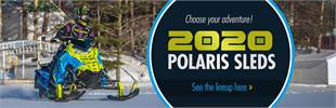 Choose your adventure! 2020 Polaris Sleds: Click here to see the lineup!