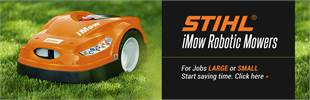 STIHL iMow Robotic Mowers: Click here to learn more.