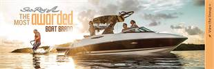 Sea Ray is the most awarded boat brand. Click here to view the lineup.