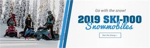 2019 Ski-Doo Snowmobiles: Click here to view the models.