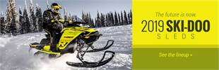 2019 Ski-Doo Sleds: Click here to view the models.