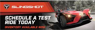 Schedule a Slingshot test ride today!