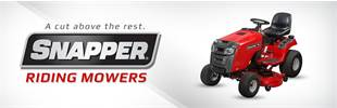 Snapper Riding Mowers: Click here to view the models.