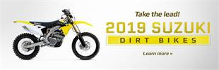 2019 Suzuki Dirt Bikes: Click here to view the models.