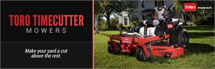 Toro TimeCutter Mowers: Click here to view the models.