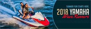 2018 Yamaha WaveRunners: Click here to view the models.