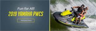 2019 Yamaha PWCs: Click here to view the models.