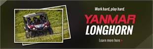 Yanmar Longhorn: Click here to see the models.