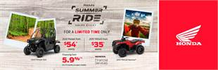 Summer Ride Sales Event - atvs/sxs