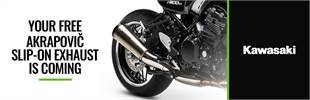 Free Akrapovic Slip-On Exhaust with Z900RS