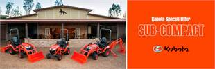 Kubota Special Offer - Sub-Compact