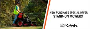 New Purchase Special Offer - Stand-On Mowers