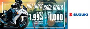 Suzuki - HOT DAYS COOL DEALS