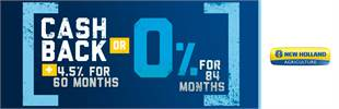 Cash Back PLUS 4.5% for 60 Months OR 0% for 84 Mon