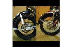 FRP fender frames front and rear.