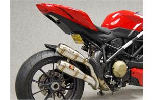 Exhaust 2012 Ducati Streetfighter 848