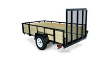 5x8 3-Board High Side Utility Trailer
