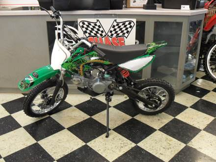 2018 125 DIRTBIKE GREEN