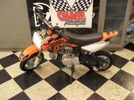 2018 70 DIRTBIKE ORANGE
