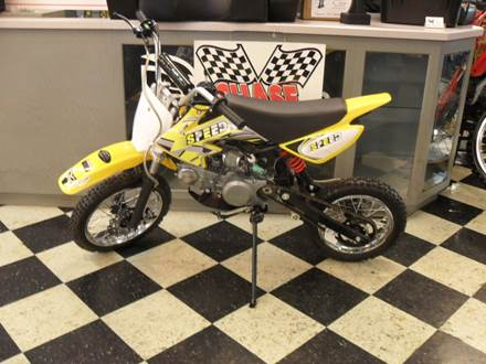 2018 125 DIRTBIKE YELLOW