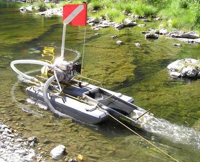 "4"" Mini Gold Dredge with 6.5HP Honda & No Compressor"